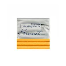 Пластика Сонет Желтый с блестками, брус 56 гр