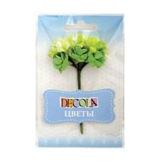 """Цветы из бумаги зеленый """"Decola"""""""