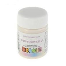 Акриловая краска интерферирующая DECOLA, 50 мл, Розовая